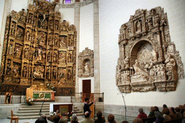 interior capilla del obispo
