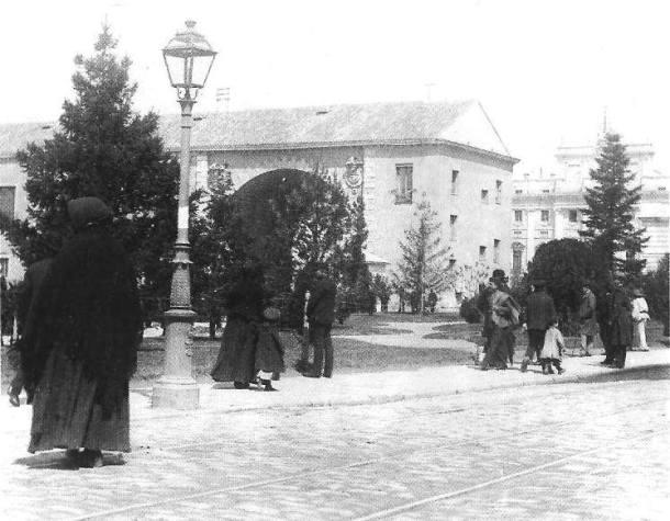 la real armeria 1890 edificio de 1563