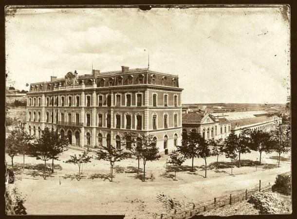 primera estacion de atocha  1860
