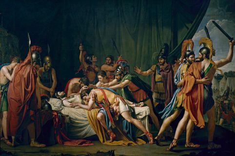 muerte de viriato jose de madrazo 1807