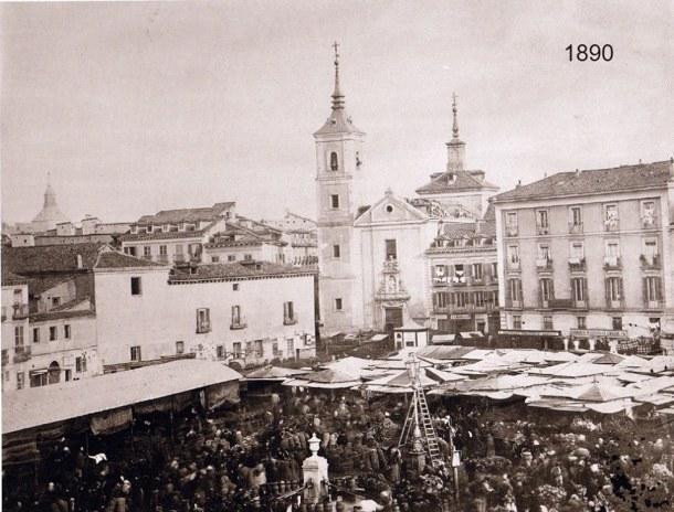 plaza de la cebada 1860