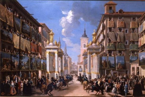entrada-de-carlos-iii-en-madrid