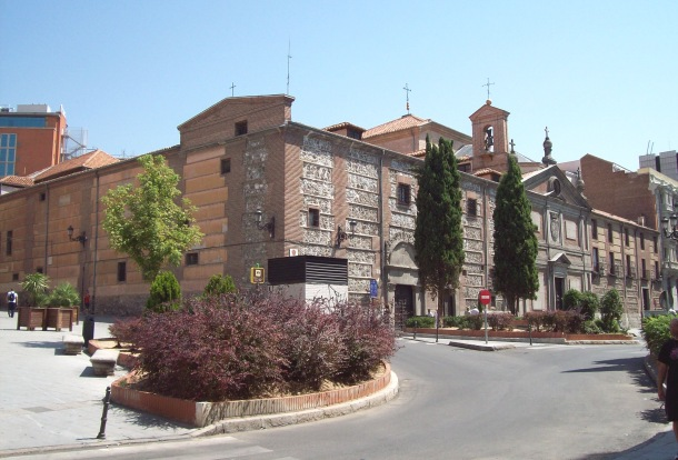 Monasterio de las Descalzas Reales, a convent from 1564 in Madrid (Spain).