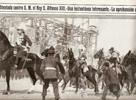 atentado contra alfonso XIII en 1913