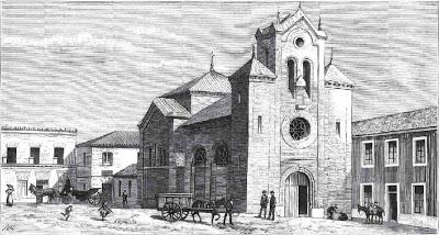 grabado iglesia del pilar