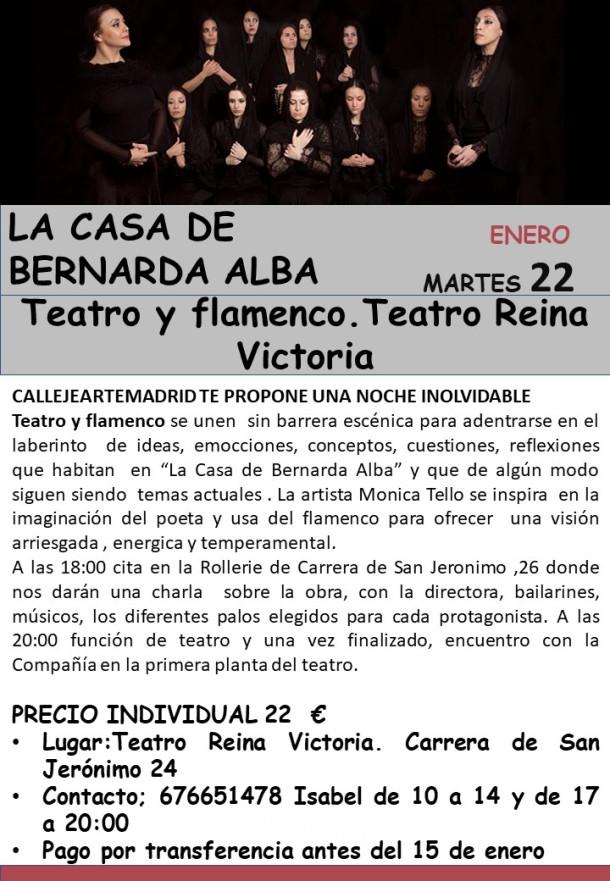 cartel teatro 22 de enero 2019