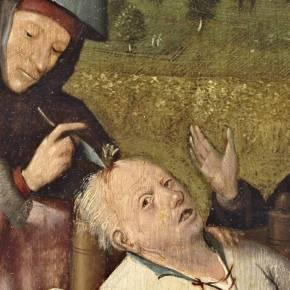 LA EXTRACCION DE LA PIEDRA DE LA LOCURA 1501-1505. ELBOSCO